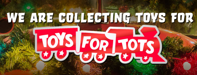 We Are Collecting For Toys For Tots