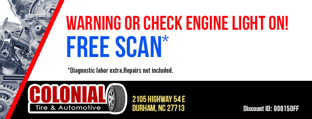 Warning or Check Engine Light on!  FREE SCAN