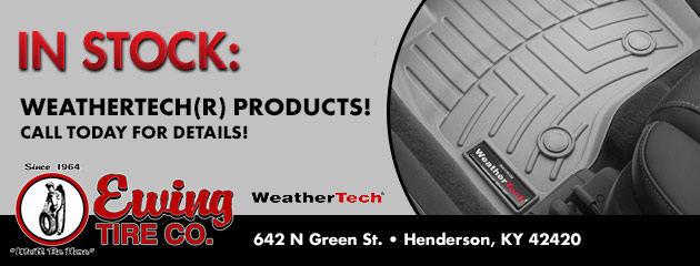 In Stock: Weathertech® Products
