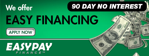 We Offer Easy Financing