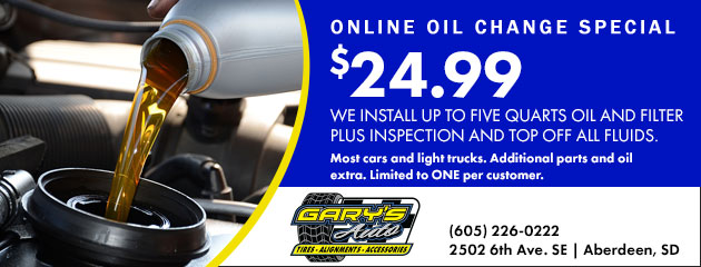 Oil Change Special - $24.99
