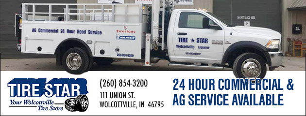 24 Hour Commercial and AG Service Available