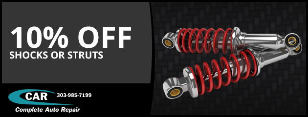 10% off Shocks or Struts
