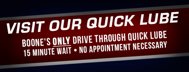 Visit Our Quick Lube