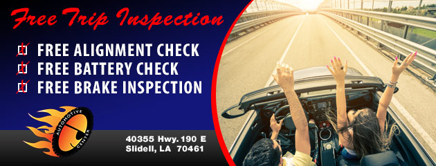 Free Trip Inspection