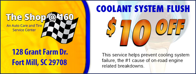 $10 Off Cooling Flush