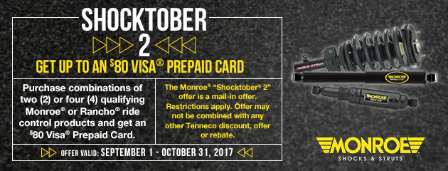 Monroe Shocktober 2 Promotion