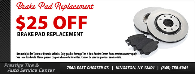 $25 OFF Brake Pad Replacement