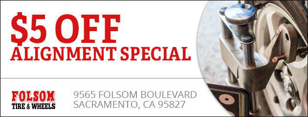 $5 off Alignment Special