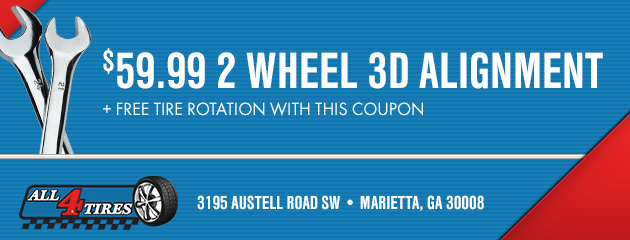 $59.99 2 Wheel 3D Alignment