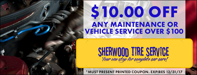 $10.00 off any maintenance or Vehicle service over $100