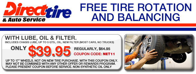Tires Coupons Direct Tire Auto Service
