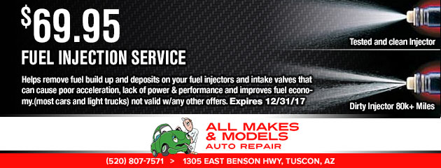 $69.95 - Fuel Injection Service