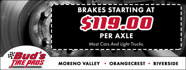 Brakes Starting at $119.00 Per Axle