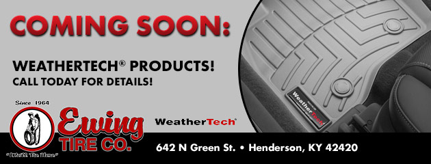 Coming Soon: Weathertech® Products