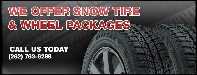 We Offer Snow Tire & Wheel Packages