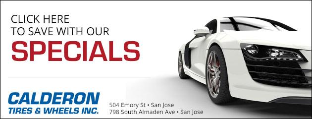 San Jose Ca Hayward Ca Tires Calderon Tires And Wheels