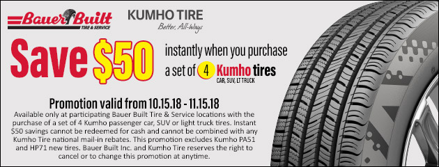 Kumho Tire Special