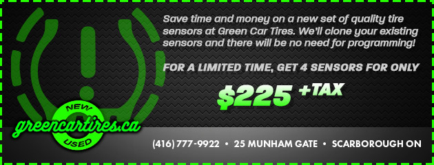 New & Used Tires & Wheels in Scarborough, ON | Green Car Tires