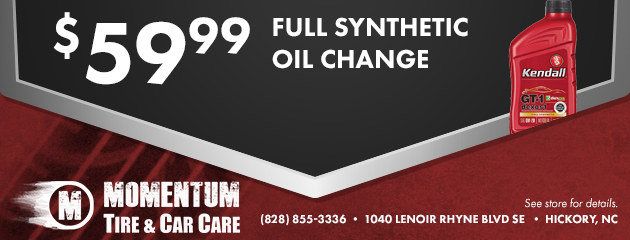 $59.99 Full Synthetic Oil Change