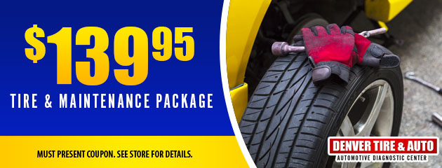 Tire & Maintenance Package
