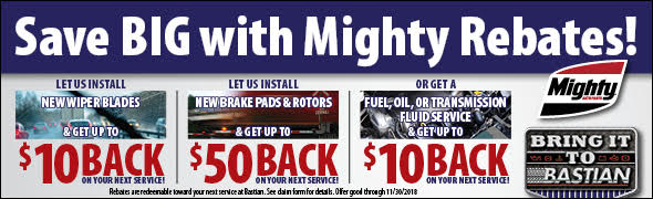 Save BIG with Mighty Rebates!