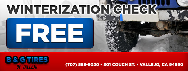 Free Winterization Check