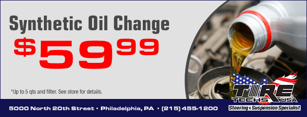 $59.99 Synthetic Oil Special