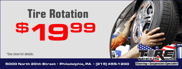 $19.99 Tire Rotation Special
