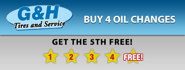 Buy 4 Oil Changes, Get the 5th Free!