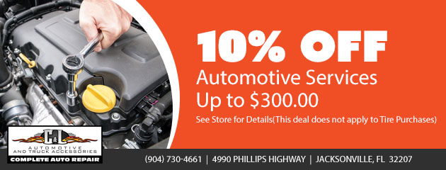 10% Off Automotive Services Up to $300.00