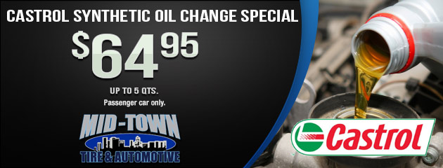 Castrol Synthetic Oil Change Special