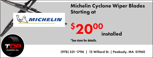 Michelin Wiper Blades Starting at $20