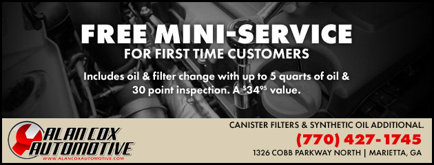 New Customer Mini Service