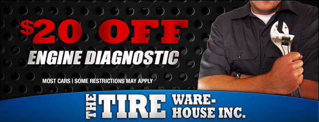 $20 Off Engine Diagnostic