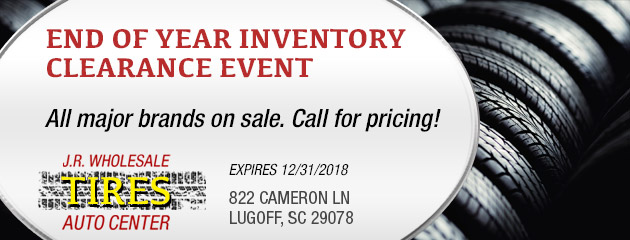 End of Year Inventory Clearance Special