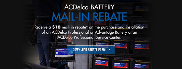 ACDelco Mail-In Rebate