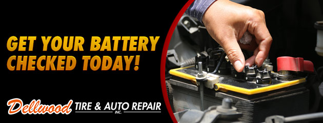 Get Your Battery Checked Today!