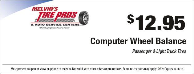 MA & RI Tires & Auto Repair | Melvin's Tire Pros & Auto