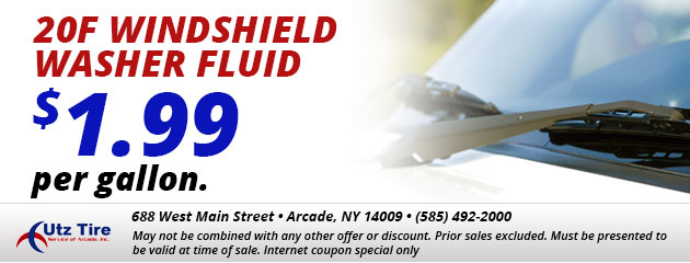 20f Windshield Washer fluid - $1.99 per gallon