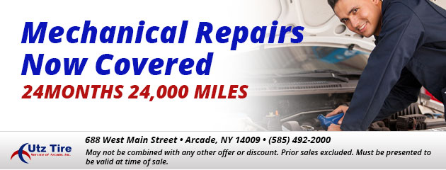 Mechanical repairs now covered 24months 24,000 miles