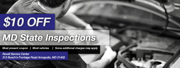 $10 Off MD State Inspections