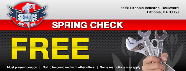 Free Spring Check