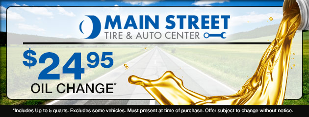 $24.95 Oil Change Coupon