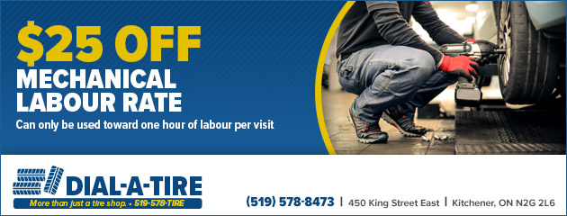 $25 OFF Labour Rate