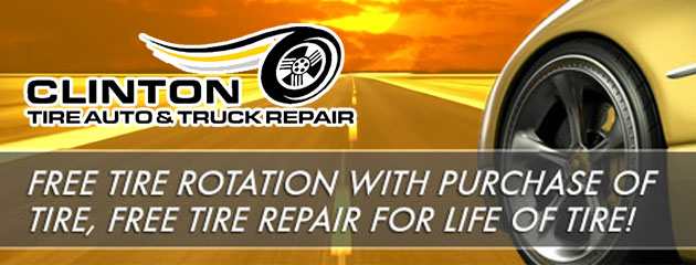 Clinton Tire and Repair Rotation and Repair