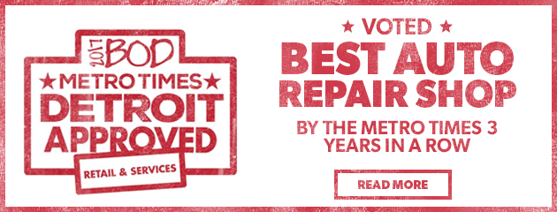 Voted Best Auto Repair Shop