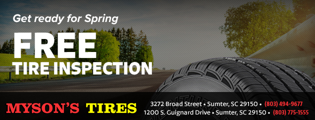 Get Ready for Spring - Free Tire Inspection