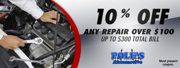 10% off any repair over $100