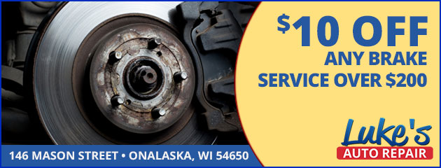 $10 Off Any Brake Service Over $200
